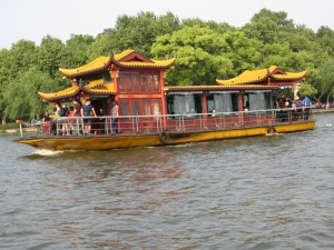 When in Hangzhou, you must take a boat ride on West Lake - just like Marco Polo
