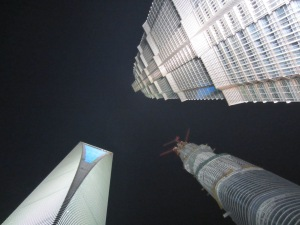 The Shanghai World Financial Center (SWFC) and the Jin Mao Tower