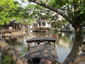 Xitang, a water town that retains much of its ancient character