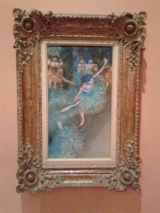 Degas at the Thyssen. Instantly recognizable.