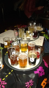 An assortment of Oregon beers at Loyal Legion.